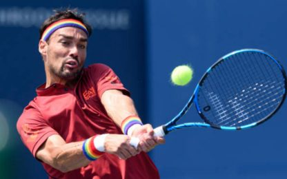Atp Toronto, Fognini vince in rimonta. Sonego out