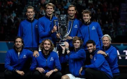 Laver Cup, l'Europa vince in scioltezza
