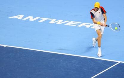 Anversa, Sinner in semifinale: Rinderknech ko