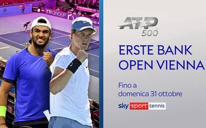 ATP Vienna su Sky: tocca subito a Berrettini
