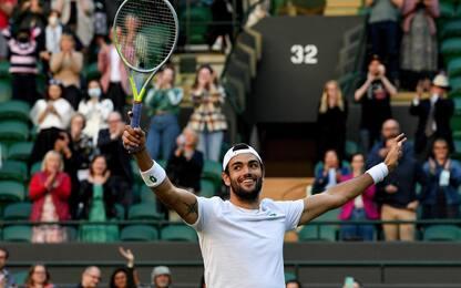 Berrettini supera Federer, è il nuovo numero 8 Atp