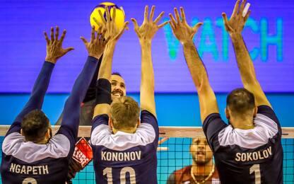 Lube, ko indolore con Kazan: 1° posto nel girone