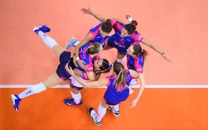 Novara vince 3-2, è in semifinale Mondiale