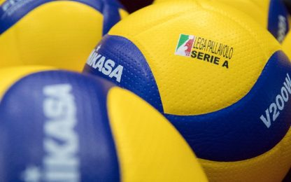 Volley, sospesi i tornei di Superlega, A2 e A3