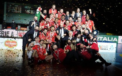 Civitanova vince la Coppa Italia: Perugia ko 3-1