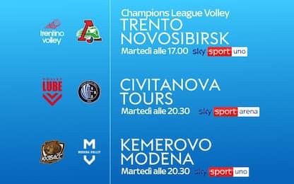 Torna la Champions su Sky, 4 italiane in campo