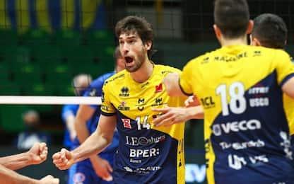 Champions di Volley: ai quarti Trento e Civitanova
