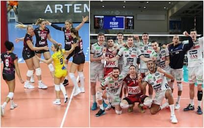 Busto Arsizio e Trento in semifinale di Champions