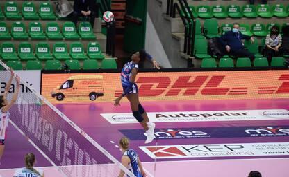 Volley, il derby Conegliano-Novara stasera su Sky