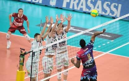 Da 2-0 a 2-2 a Perugia, Trento va in finale