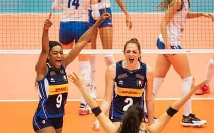 Italia vince Mondiali U.20 donne: 3-0 alla Serbia