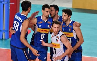 Italia-Montenegro 3-0: azzurri primi nel gruppo B