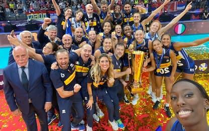 Italia campione d'Europa: Serbia sconfitta 3-1