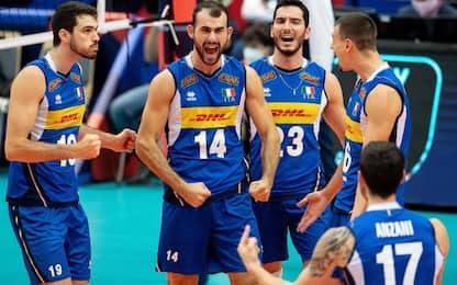 L'Italvolley vola in semifinale: Germania ko 3-0