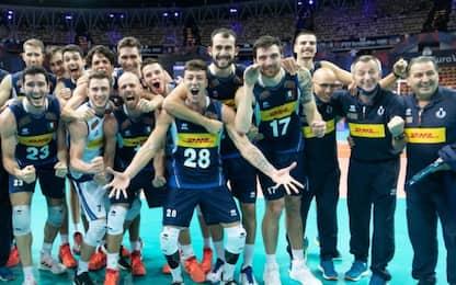 3-1 alla Serbia, Italia in finale con la Slovenia