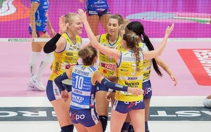 Conegliano vince la Supercoppa, battuta Novara