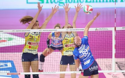 Parte Serie A volley femminile, Pantere da battere
