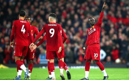 Liverpool-Wolves 1-0