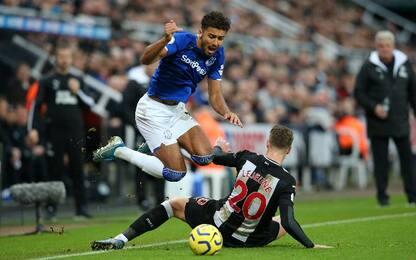 Newcastle-Everton 1-2