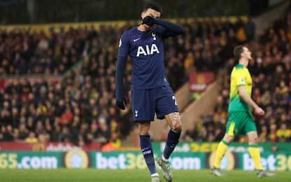 Norwich City-Tottenham 2-2