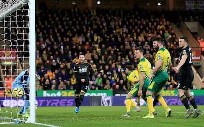 Norwich City-Wolves 1-2