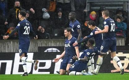 Wolves-Tottenham 1-2