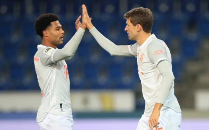 DSC Arminia Bielefeld-Bayern 1-4