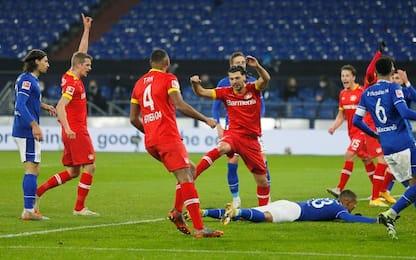 Schalke 04-Leverkusen 0-3