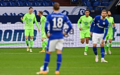 Schalke 04-Wolfsburg 0-2