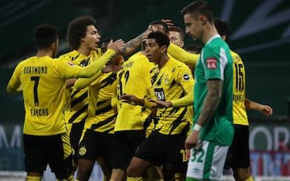 Werder Brema-Dortmund 1-2