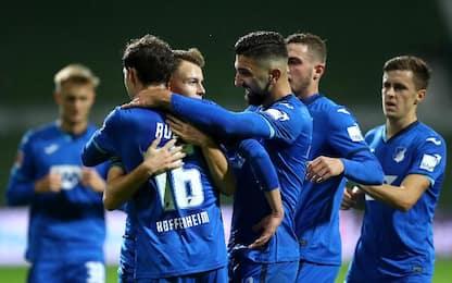 Werder Brema-TSG Hoffenheim 1-1