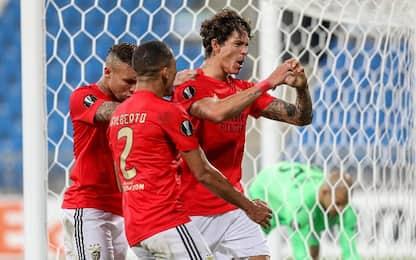 Lech Poznan-Benfica 2-4