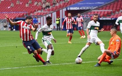 Atletico Madrid-Elche 3-1