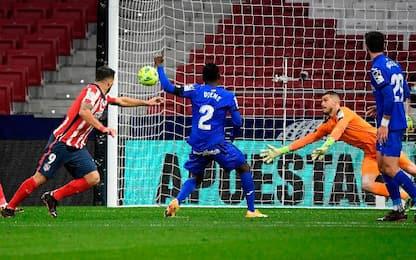 Atletico Madrid-Getafe 1-0