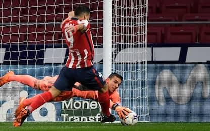 Atletico Madrid-Valladolid 2-0