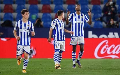 Levante-Real Sociedad 2-1