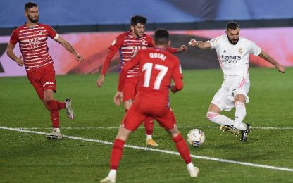 Real Madrid-Granada CF 2-0