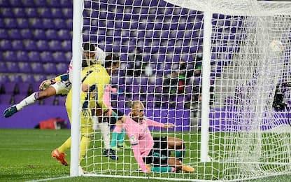 Valladolid-Barcellona 0-3