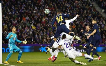 Valladolid-Real Madrid 0-1
