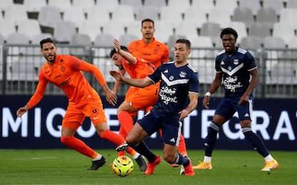 Bordeaux-Montpellier 0-2