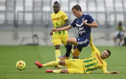 Bordeaux-Nantes 0-0