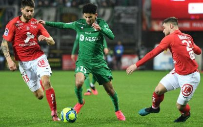 Brest-St Etienne 3-2