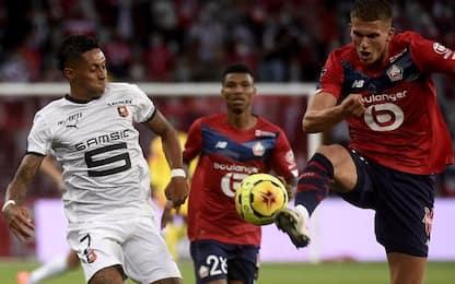 Lilla-Rennes 1-1