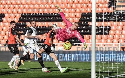 Lorient-Montpellier 0-1