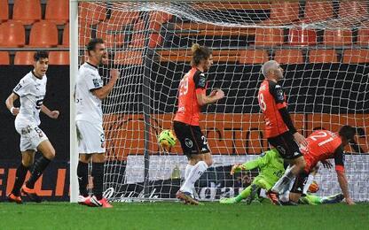 Lorient-Rennes 0-3