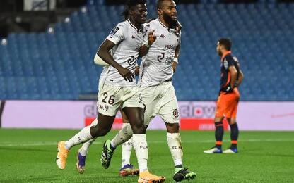 Montpellier-Metz 0-2