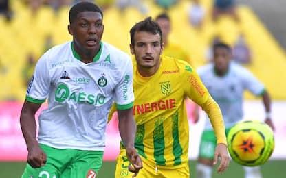 Nantes-St Etienne 2-2