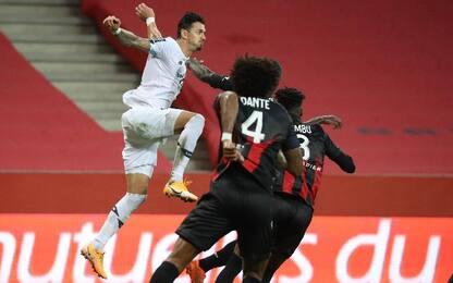 Nizza-Lilla 1-1