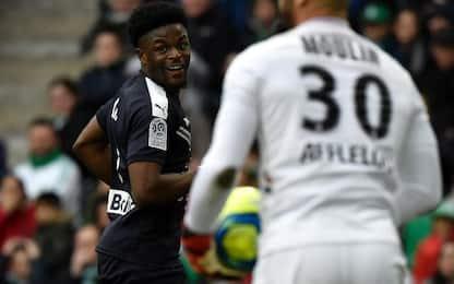 St Etienne-Bordeaux 1-1