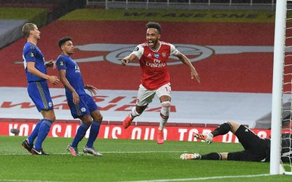 Arsenal-Leicester 1-1